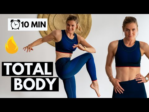 Sport à la maison total body   10 min rapide et efficace