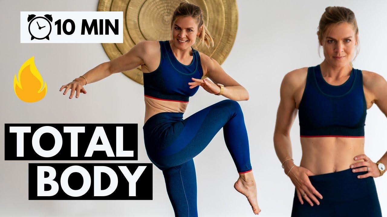 Sport à la maison total body | 10 min rapide et efficace - YouTube