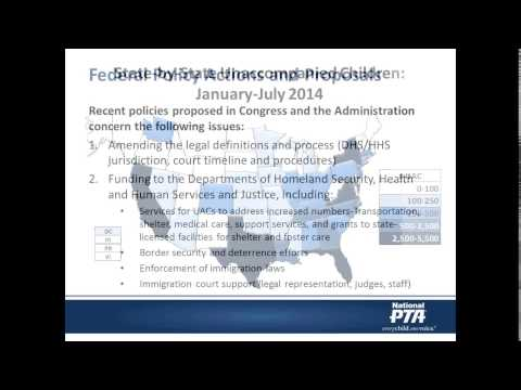 Policy Briefing: Increase of Unaccompanied Children Entering the United States Webinar
