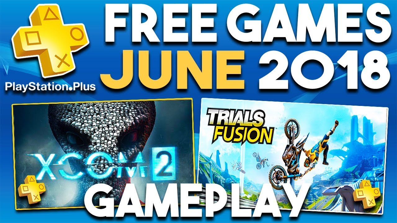 free games ps plus june 2018