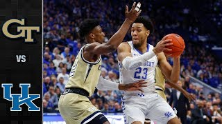 Georgia tech vs. kentucky: lost on the road to 8th ranked kentucky 67-53. yellow jackets kept game close for first half and cut the...