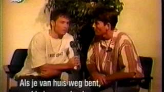 Backstreet Boys - 1996 - SBS - Netherlands Interview (@_BoysOnTheBlock)