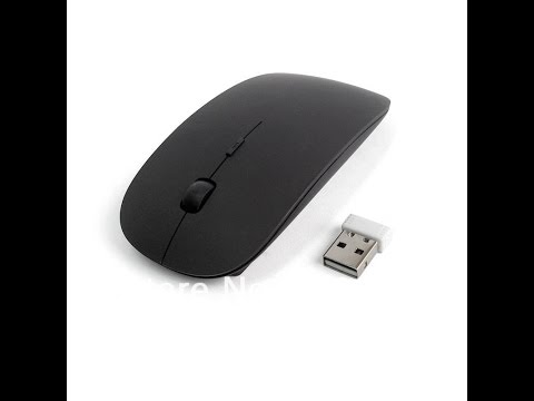 2.4G USB Wireless Optical Mouse for Mac (Pro, Air) Black - Review