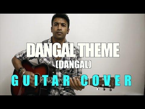 Dangal Title | Dangal | Daler Mehndi | Acoustic Guitar Cover