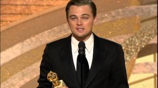 Golden Globes 2005 Leonardo DiCaprio Best Actor Drama