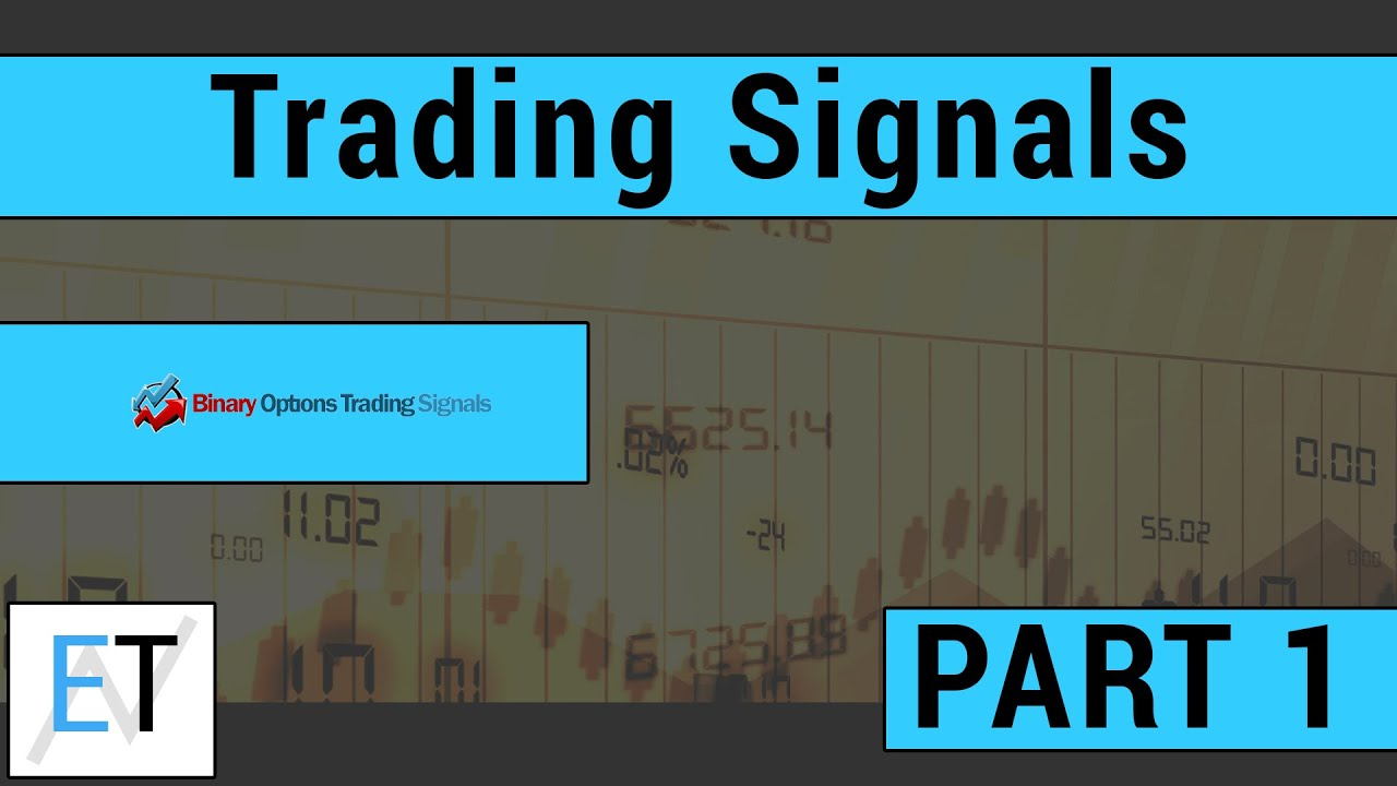 Stock option trading signals