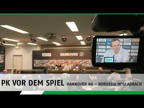 PK vor dem Spiel | Hannover 96 - Borussia M'Gladbach