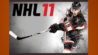 NHL 11 Gameplay Leafs Flames PS3 {1080p 60fps}