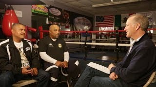 Robert Garcia and Buddy McGirt with Jim Gray | SHOWTIME Boxing