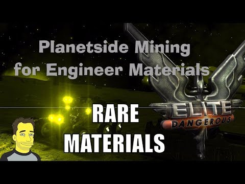 Elite Dangerous : SRV - Mining planets (a quick guide)
