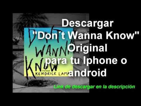 Download Don´t Wanna Know Maroon 5/ Descargar Don´t Wanna Know original