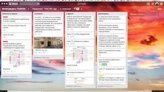 АМО и ТРЕЛЛО - двусторонняя интеграция сервисов