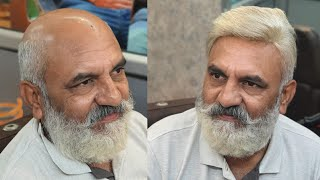 old man hair patch old man transformation in delhi by anas sheikh DELHI ! 9650914665 PUNE 7447766464