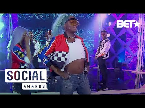 See Lala And Kway's Epic And Hilarious Dance-Off | BET Social Awards