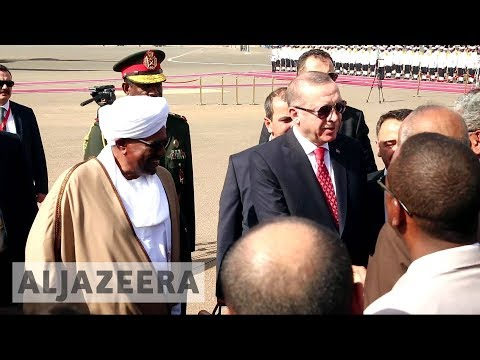 Turkey and Sudan agree to boost ties in Erdogan visit
