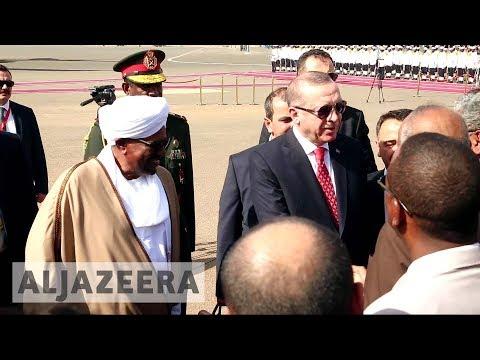 Turkey and Sudan agree to boost ties in Erdogan visit