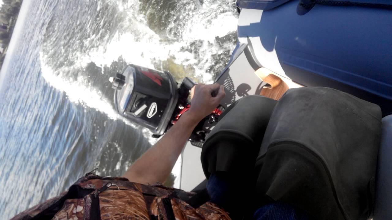 Обзор лодки ПВХ FLINC F280TLA - YouTube