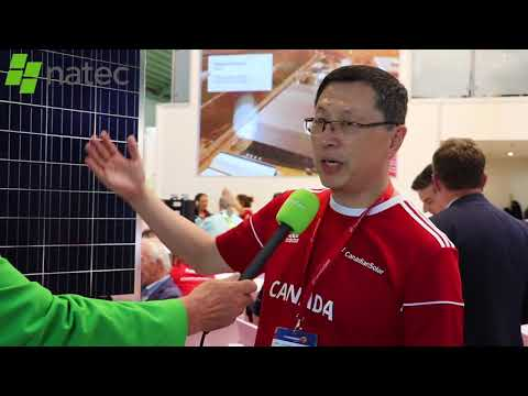 Dr Shawn Qu talks about the top players in the Canadian Solar product range