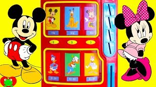 Mickey Mouse Club House Friends Vending Machine Surprises