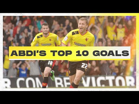 Almen Abdi's Top 10 Watford Goals 🚀   Best Bits