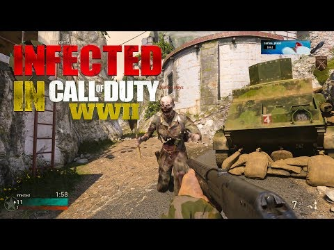 INFECTED gameplay in Call of Duty WWII