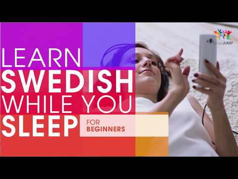 Learn Swedish While You Sleep! For Beginners! Learn Swedish Words & Phrases While Sleeping!