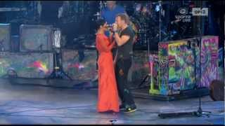 Coldplay and Rihanna - Princess of China live at Paralympics Games 2012 London HD Best Performance