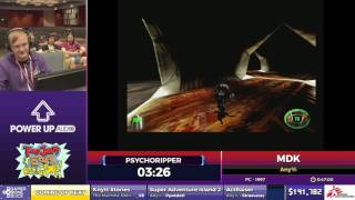 MDK by psychoripper in 38:29 - SGDQ2017 - Part 13