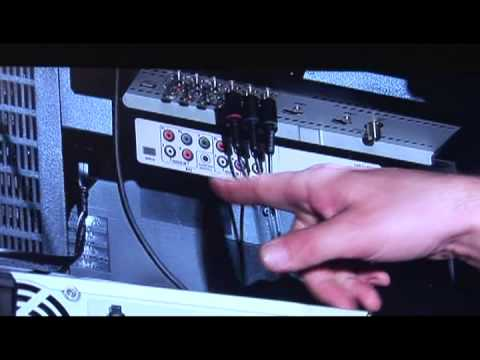 TVs  DVD Players  How to Connect a DVD Player to a TV - YouTube