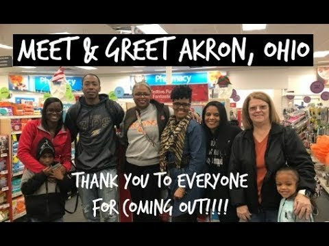 Meet & Greet Akron,Ohio 11/12/17 | THANK YOU ALL SO MUCH FOR COMING!