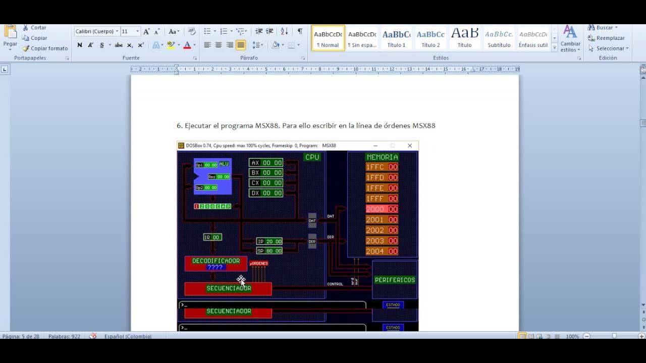 programa msx88