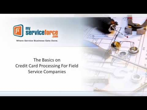 Webinar: The Basics on Credit Card Processing for Field Service Companies (Oct 2016)