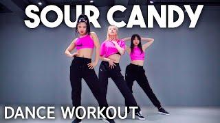 [Dance Workout] Lady Gaga, BLACKPINK - Sour Candy | MYLEE Cardio Dance Workout, Dance Fitness