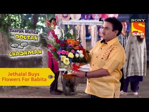 Your Favorite Character   Jethalal Buys Flowers For Babita   Taarak Mehta Ka Ooltah Chashmah