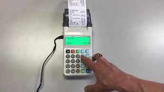 Мініка 1105К Ф інструкція для касира