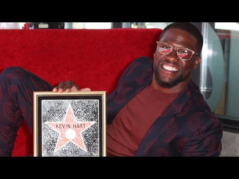 Kevin Hart - Walk of Fame Ceremony