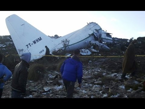 100 dead, 1 survivor in Algeria plane crash, official says