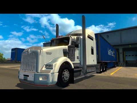 American Dream #3 Kenworth T800 Trabajando para Wallmart! American Truck Simulator