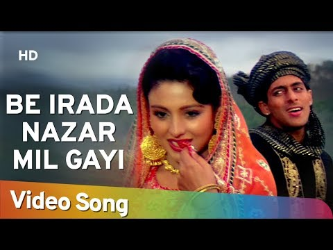 be-irada-nazar-mil-gayi-to-|-salman-khan-|-chandni-|-sanam-bewafa-|-hindi-song