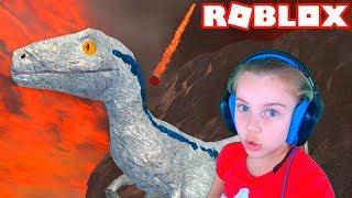 ПОБЕГ ИЗ ВУЛКАНА в Roblox Видео для детей детская игра ПРО ВУЛКАН в Роблокс