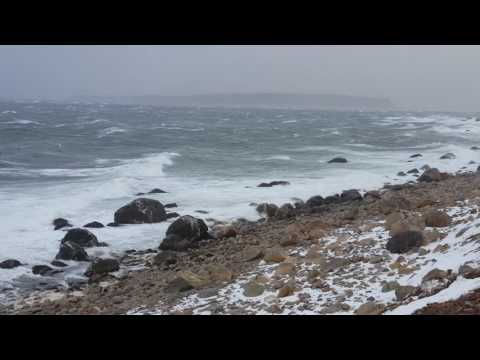March 11, 2017 Windstorm at Kelligrews, Conception Bay South, Newfoundland, Canada (video 2)