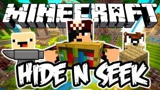 Hide N Seek c/ Facecam: Minecraft
