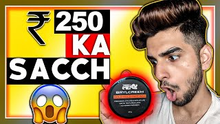Brylcreem bold hold hair wax review & hair styling| LAKSHAY THAKUR