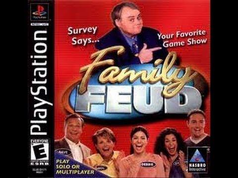 Playstation Family Feud ORIGINAL RUN Game #1