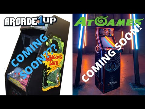 Arcade1up: Dragon's Lair Coming Soon?? We Discuss iiRcade from PsykoGamer