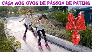 CAÇA AOS OVOS DE PÁSCOA DE PATINS