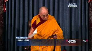 Dalai Lama Opening Prayer in U.S. Senate (C-SPAN)