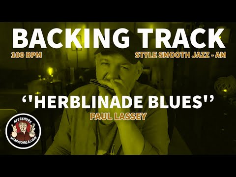 Backing track - Style Smooth Jazz - Am - 100 - Herblinade Blues (2008)