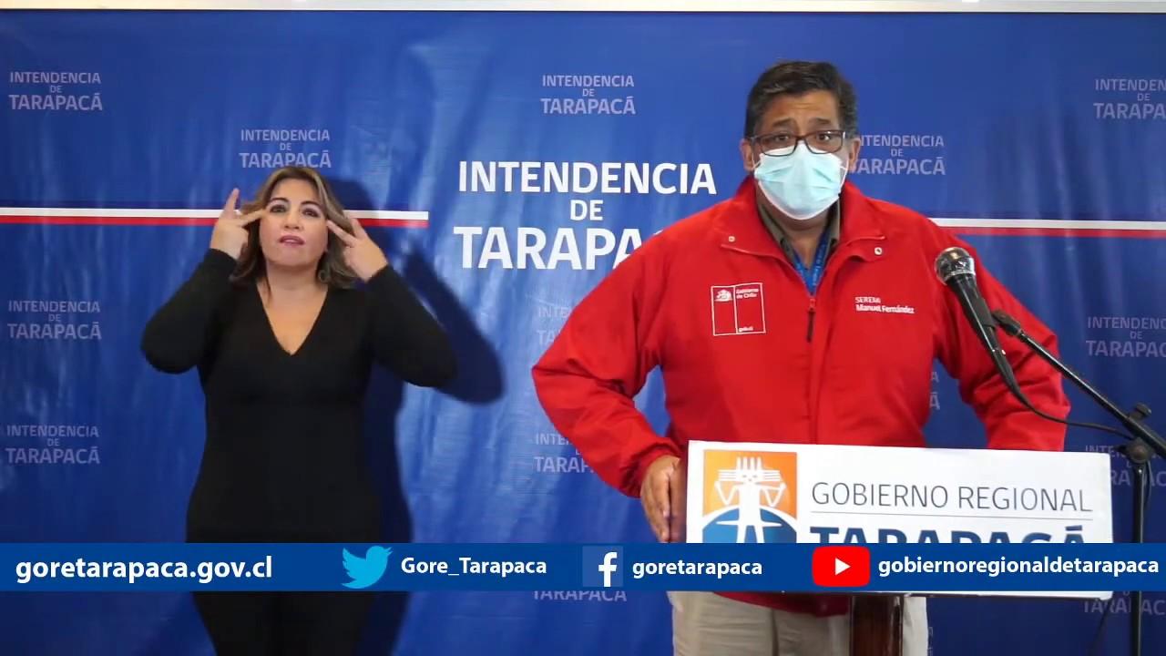 Punto de prensa 08 de julio de 2020 - Gobierno Regional de Tarapacá