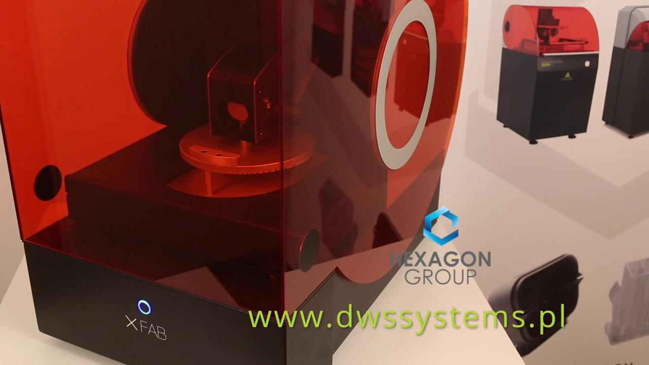 video DWS XFAB 3D Printer
